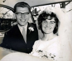 Terry & Gail's Wedding May 22 1965